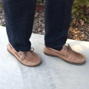 SPERRY BROWN LEATHER LOAFERS